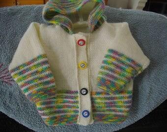 Kids vest with hood