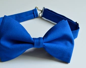 Royal Bow Tie,Adult Bow Tie, Kids Bow Ties, Wedding Bow Tie, Royal Blue Bow Tie, Groomsmen Bow Tie, Boys Bow Ties, Toddler Bow Tie, Bow Ties