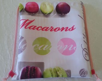 "Handmade kids backpack ""macaroons"""
