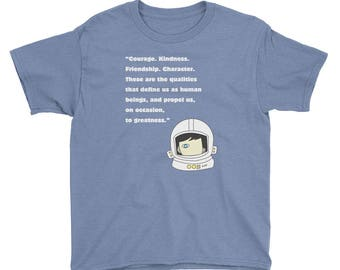 Kids Wonder Quote T-Shirt wonder movie kindness choose kind anti bullying were all wonders rj palacio classroom friendship positivity