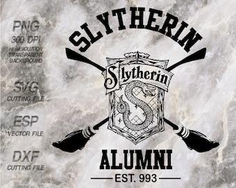 Slytherin Alumni Hogwarts home  Harry Potter Quote ,SVG,Clipart,esp,dxf,png 300 dpi