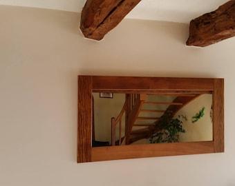 iroko mirror frame