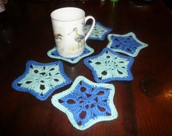 bottom mug, glass coaster crochet or bottom of bottle
