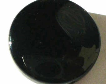 1 bead 15mm - VCP49 jet glass