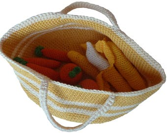 Basket of fruit or vegetables without accessories