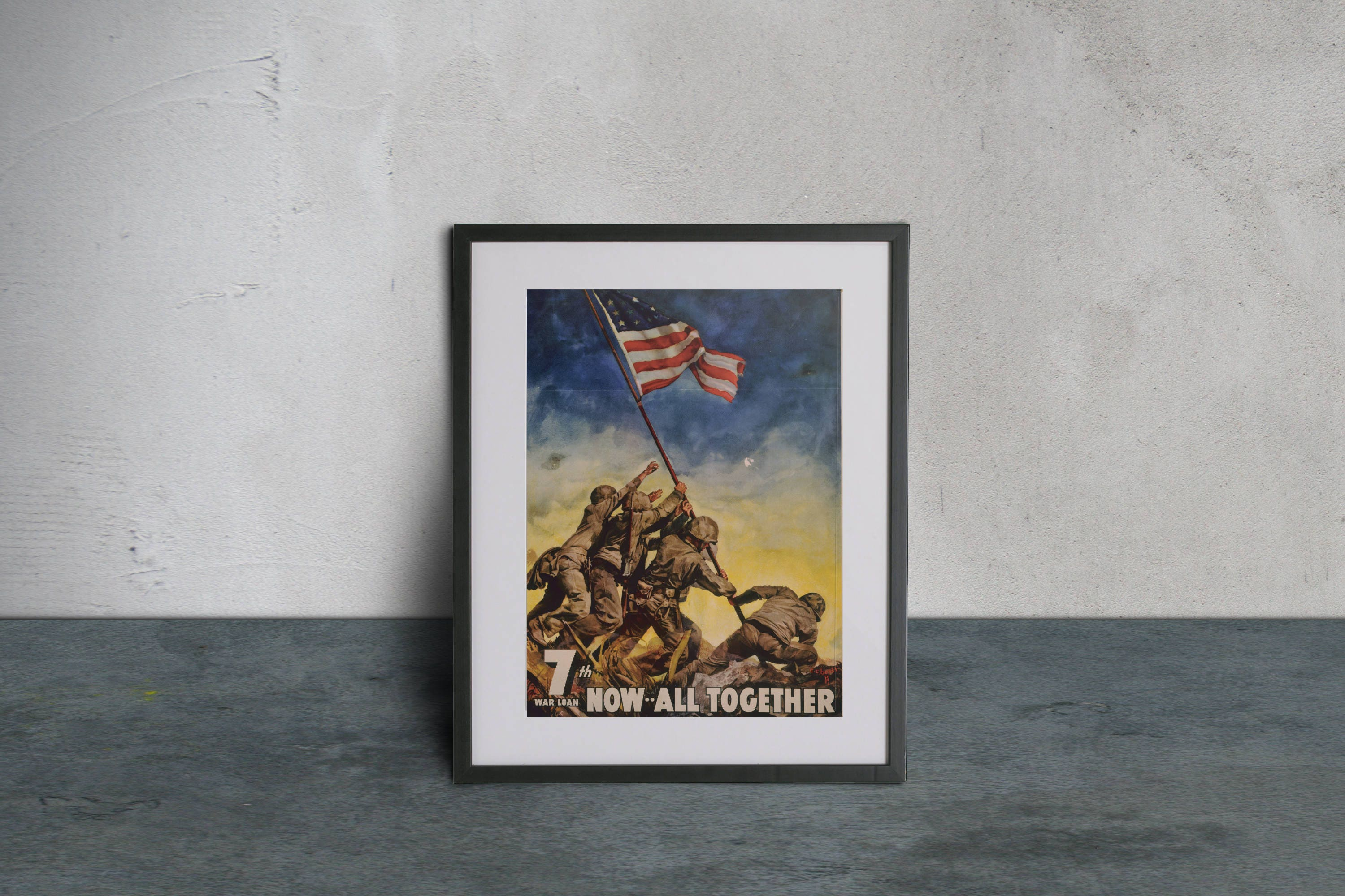 7th war loan poster dating 7