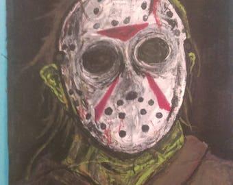 Jason voorhees painting