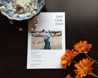 Polaroid Save our Date