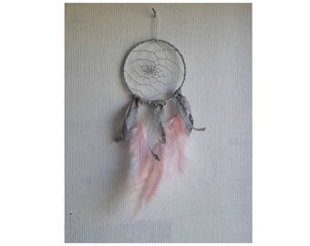 Dream catcher feathers and lace
