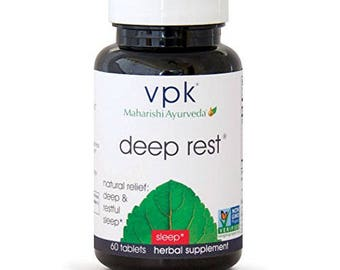 Deep Rest | 60 Herbal Tablets | Natural Support for Uninterrupted & Restful Sleep