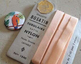 Epaulette tubular pink Nylon 10 mm