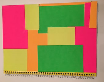 Notebook-1 Subject, Color Block