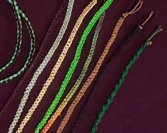 Handmade Hemp Bracelets