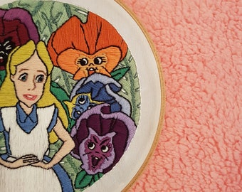 Alice and friends 8 inch hoop