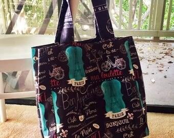 Lyon classic tote bag