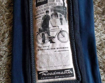 Vintage Roadmaster 1941 advertising Pocket