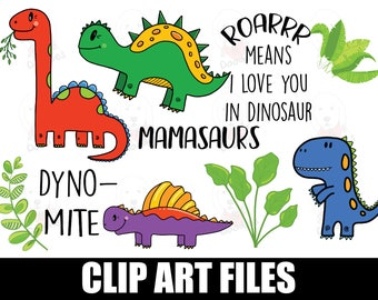 dinosaur clipart / dinosaur clip art / dinosaur / clipart / dinosaur party / dino clipart / dinosaur birthday / cute dinosaur / dinosaur svg