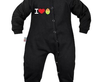 Baby pyjamas: love Easter