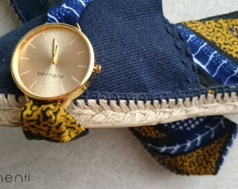 All fabric shoes watch WAX