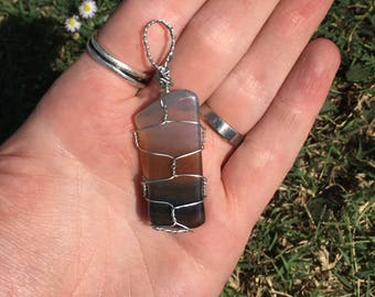 Hand-wrapped Pendants (1-piece)