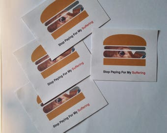Stop Paying For My Suffering Sticker (set of 9)
