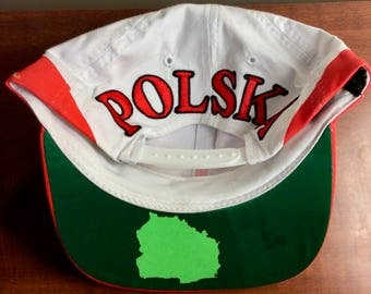 1996 Atlanta Olympics Deadstock Poland Snapback hat