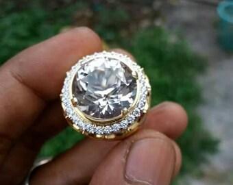 Natural Rock Crystal Quartz Top Luster