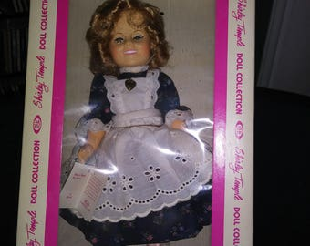"""Ideal Shirley Temple Doll 1982 in The Littlest Rebel 12"""""""