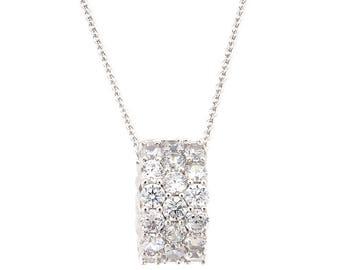 Shining Circular Pendant Necklace