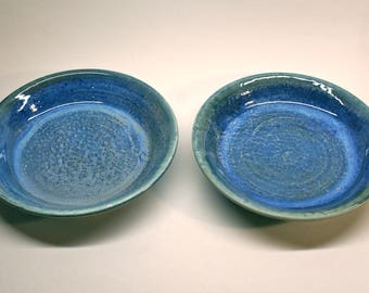 Plates + Bowls = PLOWLS ! Set of 2 with free shipping