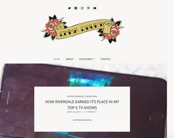 Blog/Website Header
