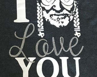 "I ""Willie"" Love You T-Shirt"