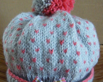 Wool Hat 0-1 year baby