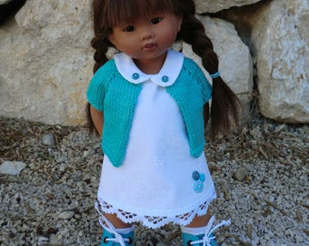 Dress and vest for Wichtel dolls