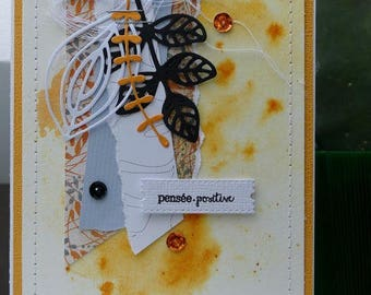 Card all occasions 'positive thinking'