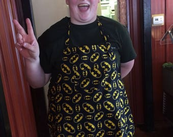 Batman Full Adult Apron