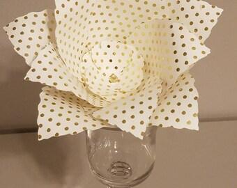 Paper Flower; wall flower, #2