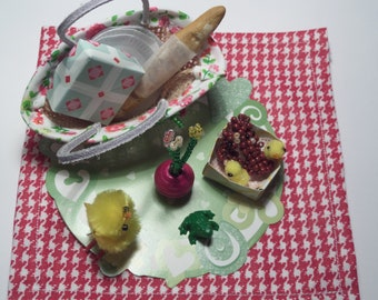 Lot accessories, miniatures, egg, Pullip, doll, other