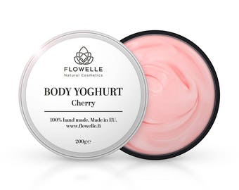 Hand made natural body yoghurt from Scandinavia