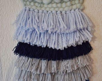 Summer wall weaving