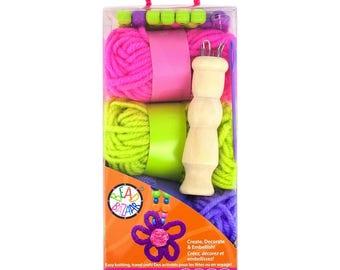 BB2105 Bead Bazaar-Spool Flowers Knitting Kit