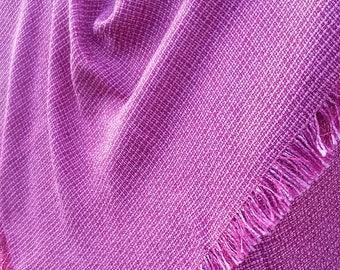 Deep Pink Square Scarf Luxury Square Scarf Pink Wedding Shawl Pink Cashmere Scarf Deep Pink Pashmina Hijab Bandana Wrap Winter Scarves Pink