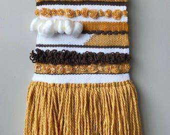 Brown and Yellow Wall Hanging