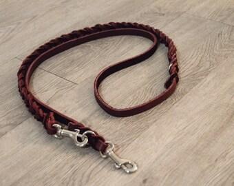 Custom Half-braided Service Dog Style Leash