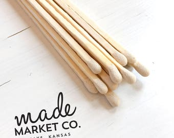 White Colored Tip Matches. Match Sticks Refills Bulk Unbottled 50 Count. Farmhouse Home Decor. Gifts for Her. Best Seller. Most Popular Item