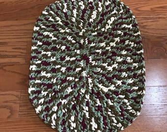 Oval Shaped Rug