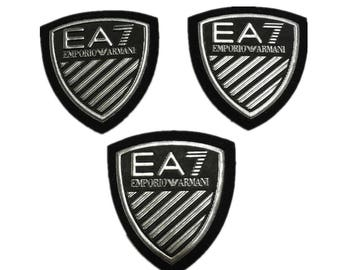 Patches,Armani patches,sew on patch,sheild leather badges,plastic PU shoulder badges,badges for jackets,patches for denim jeans,chest badges