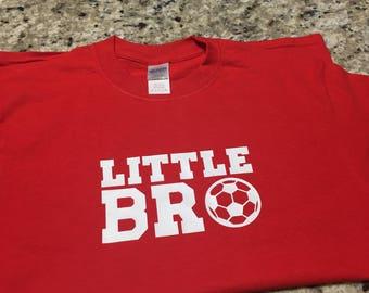 Little Bro Soccer Tee Shirt