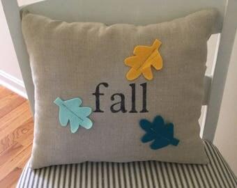 Farmhouse Fall Linen Pillow