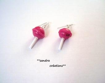 chupa chups lollipop earrings